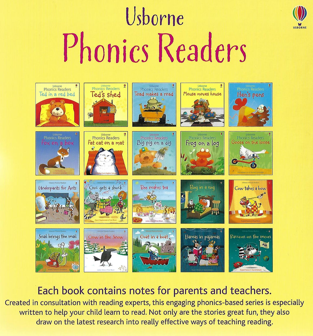 Usborne Phonics Readers 20 Books