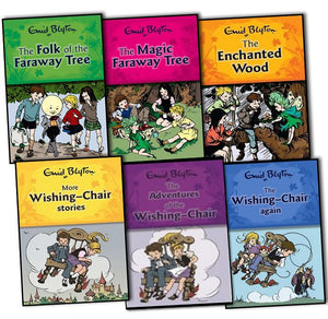 Enid Blyton Faraway Tree & Wishing Chair 6 Books