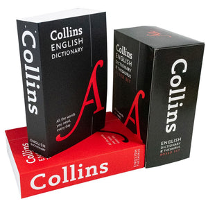 Collins English Dictionary and Thesaurus 2 Books Box Set