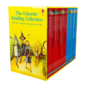 Usborne Reading 40 Books Collection