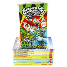 Load image into Gallery viewer, Captain Underpants 10 Books Children Collection Paperback Set By Dav Pilkey