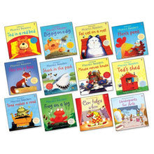 Load image into Gallery viewer, Usborne Phonics Readers 12 Books Collection Box Set