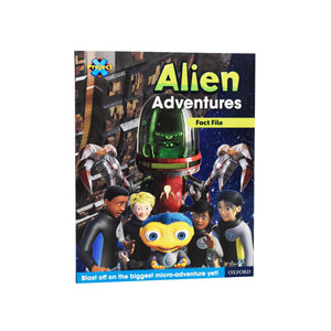 Project X Alien Adventures Series 2 Collection 25 Books Set Paperback by Steve Cole