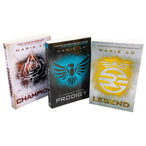 Legend Trilogy Series Collection Marie Lu 3 Books Set