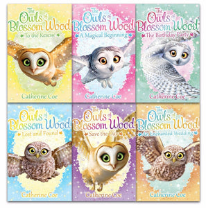 Owls Of Blossom Wood 6 Books Children Collection Paperback Set By Catherine Coe