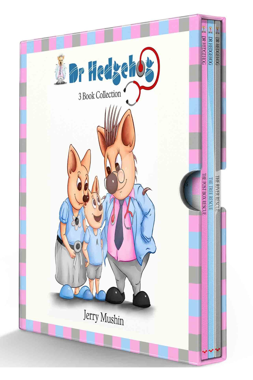 Dr Hedgehog 3 Books Children Collection Paperback Box Set By Jery Mushin