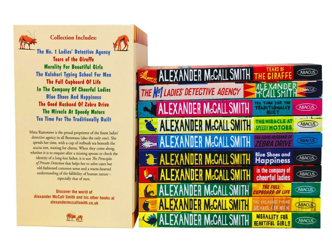 No.1 Ladies Detective Agency 10 Books Adult Pack Paperback Set By Alexander Mccall Smith