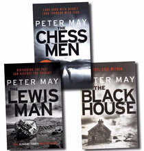 Load image into Gallery viewer, Peter May Lewis Trilogy 3 Books Box Set