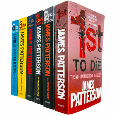 Womens Murder Club Series 1 - 5 Books Adult Collection Paperback Set By James Patterson
