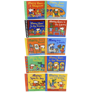 Maisy Mouse 10 Picture Books Children Collection Pack Paperback Set By Lucy Cousins