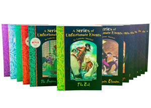 A Series of Unfortunate Events Collection Lemony Snicket 13 Books Set