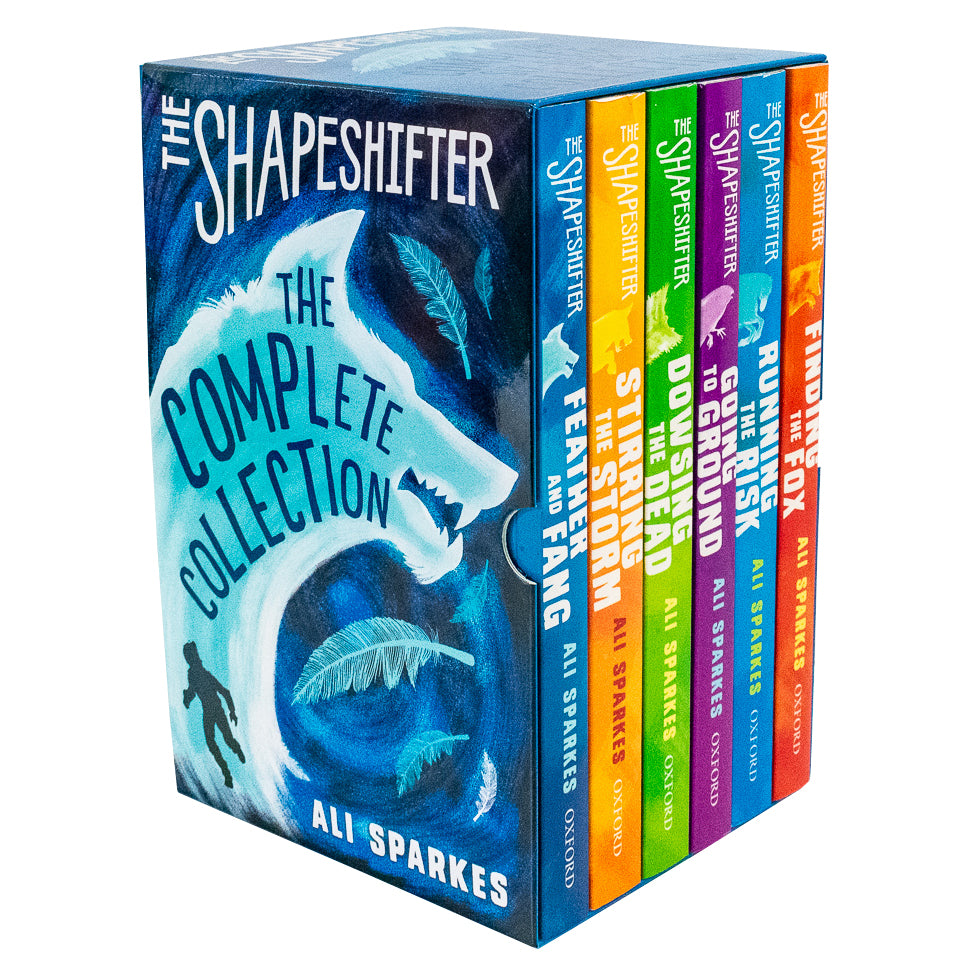 Shapeshifter Series 6 Books Box