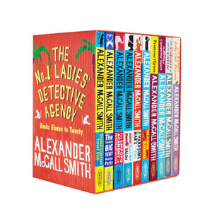 The No 1 Ladies Detective Agency 10 Books Set Series 2 (Book 11 to 20) by Alexander McCall Smith-Paperback