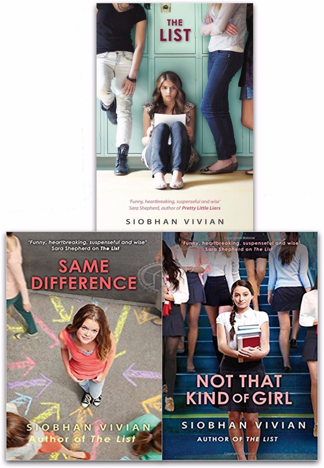 Siobhan Vivian Collection 3 Books Set