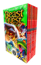 Load image into Gallery viewer, Beast Quest 6 Books Series 9 Children Collection Paperback Box Set By Adam Blade