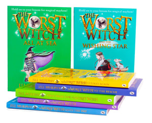Worst Witch Complete Adventure 7 Books Collection