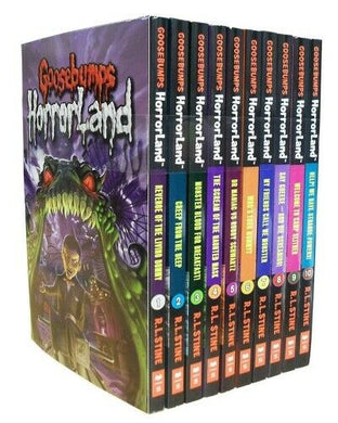 Goosebumps HorrorLand Series 10 Books Children Collection Paperback By R.L Stine