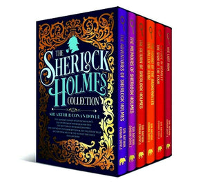 Sherlock Holmes Deluxe Hardback Collection 6 Books Box Set