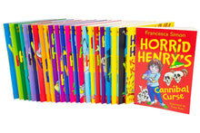 Load image into Gallery viewer, Horrid Henry 24 Books - Box