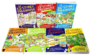 Andy Griffiths Treehouse  7 Books
