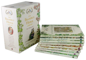 Brambly Hedge Library Collection 8 Books Set