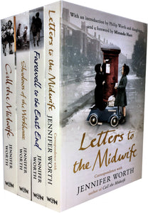 Call the Midwife Jennifer Worth 4 Books Box Set