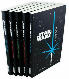 Star Wars Junior Novel 5 Books Set Children Collection Paperback Return to Jedi
