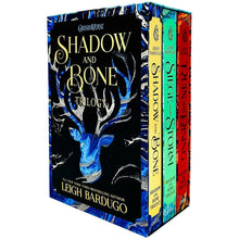 Load image into Gallery viewer, Shadow & Bone Grisha Trilogy Series 3 Books Young Adult Set Paperback By Leigh Bardugo