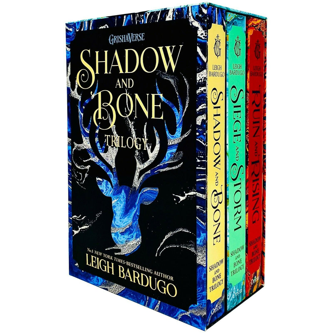 Shadow & Bone Grisha Trilogy Series 3 Books Young Adult Set Paperback By Leigh Bardugo