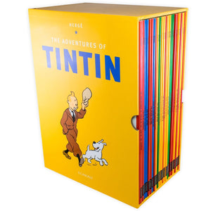 Tintin 23 Books Box Set