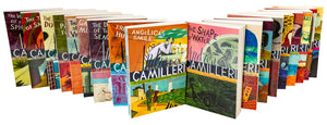 Inspector Montalbano Collection Andrea Camilleri 18 Books Set