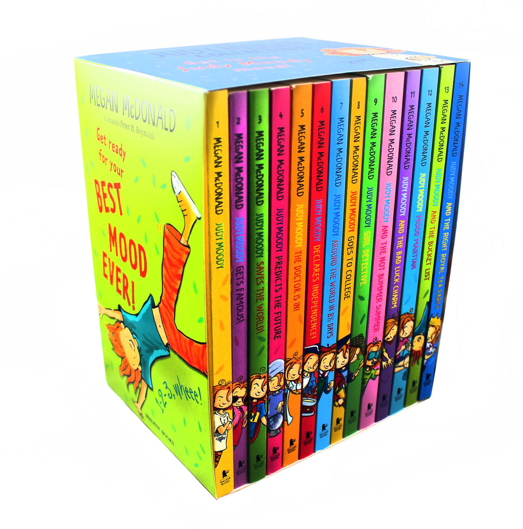Judy Moody 14 Books Collection Set by Megan McDonald