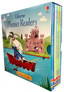 Usborne Phonics Readers  15 Picture Books Collection Box Set