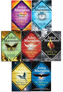 John Marsden The Tomorrow Series 7 Books Collection Set
