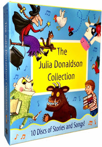The Julia Donaldson 10 Audio CD Collection
