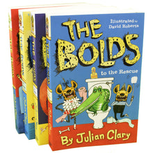 Load image into Gallery viewer, The Bolds 3 Books Children Collection By Julian Clary
