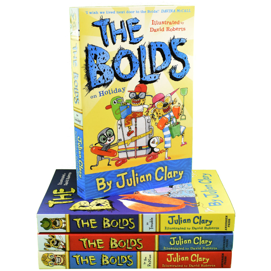 The Bolds 3 Books Children Collection By Julian Clary