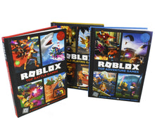 Load image into Gallery viewer, Roblox Ultimate Guide 3 Books Children Collection Hardback By-David Jagneaux