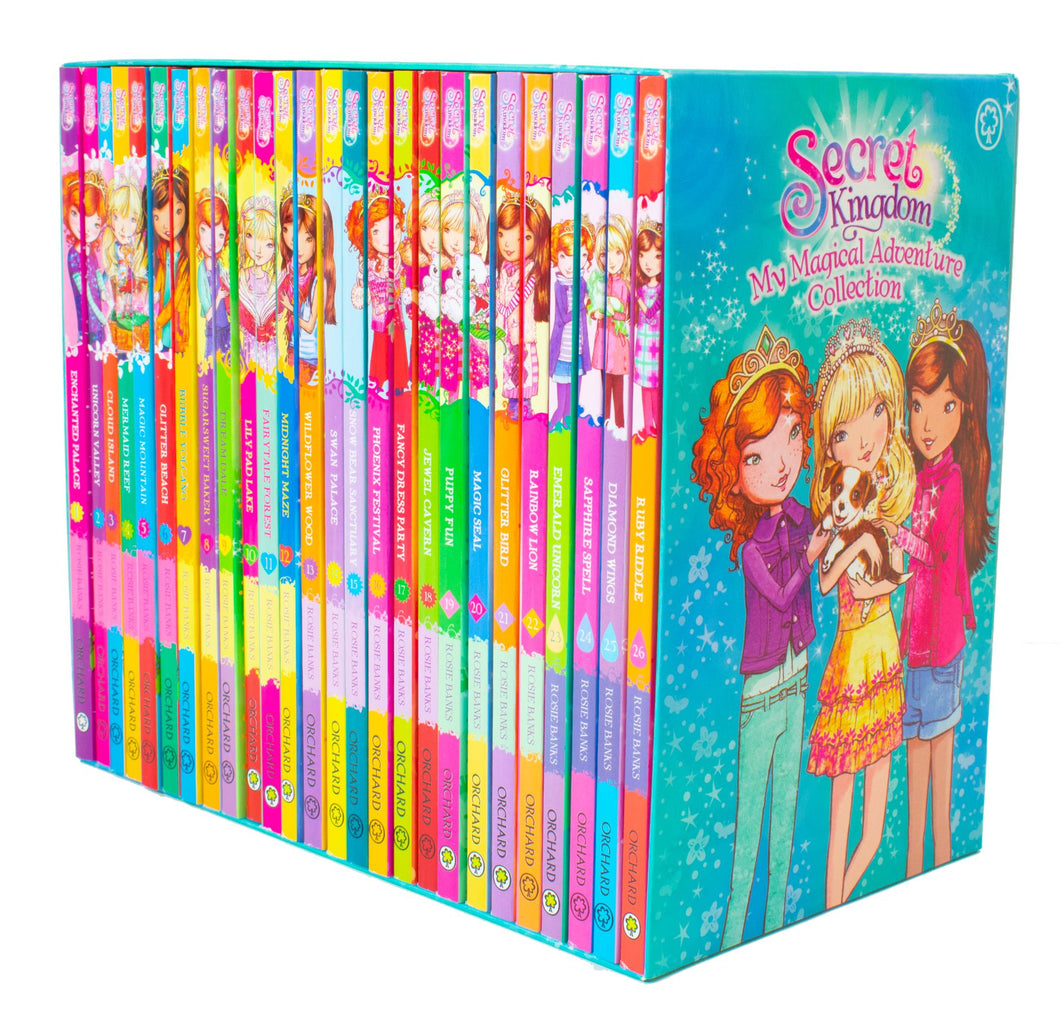 Secret Kingdom My Megical Adventure Collection 26 Books Set