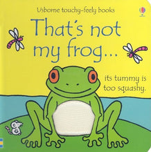 Load image into Gallery viewer, Usborne Touchy Feely Frog Bear Donkey 3 Board Books Collection