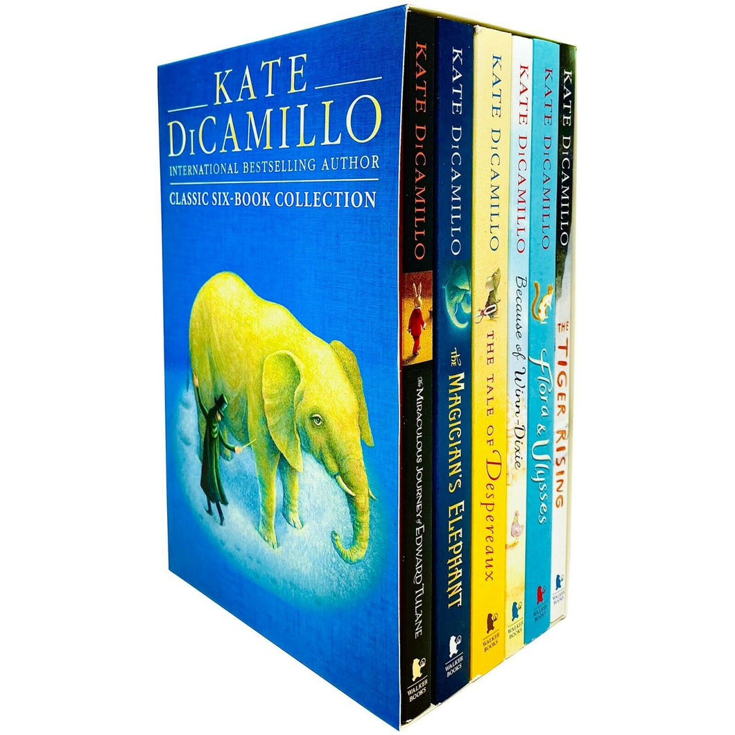Kate Dicamillo Classic 6 Books Children Collection Pack Paperback Gift Box Set