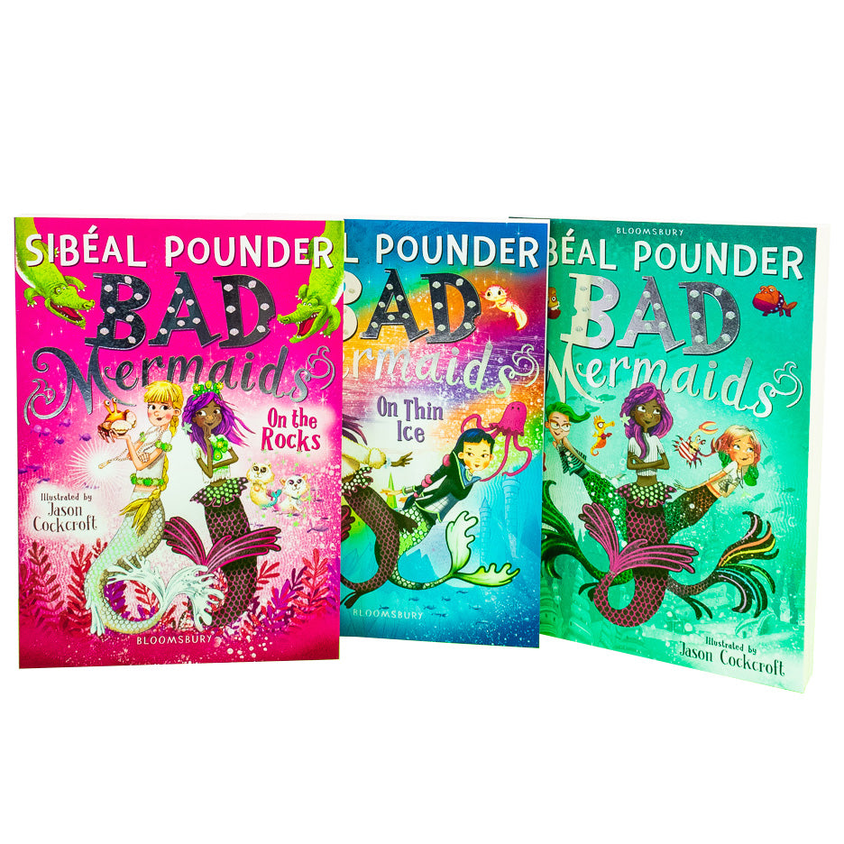 Sibeal Pounder Bad Mermaids 3 Books Collection