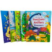 Load image into Gallery viewer, Usborne Lift The Flap General Knowledge 5 Books Collection Set