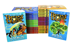 Beast Quest The Hero & The Battle Series 1 To 6 - 36 Books