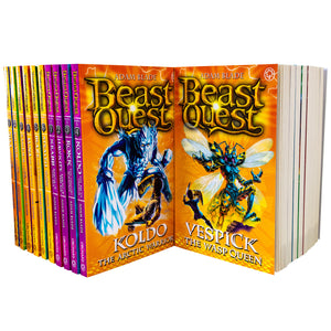 Beast Quest Series 4 to 6 By Adam Blade 18 Books Set