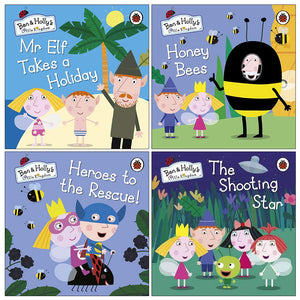Ben & Hollys Little Kingdom 4 Books Collection Set