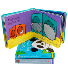 Load image into Gallery viewer, Usborne Touchy Feely 3 Books - Squirel , Hamster , Panda