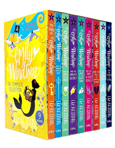 Tail Of Emily Windsnap Series 9 Books Children Box Set Paperback Collection By Liz Kessler