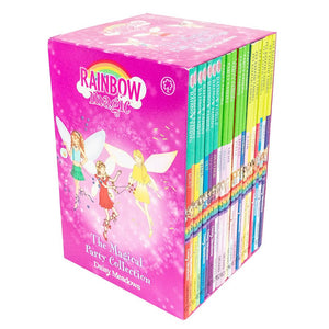 Rainbow Magic Colour, Pet Keeper, Party Fairies - 21 Books