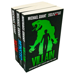 Michael Grant 3 Books (Hero,Vilain,Monster)